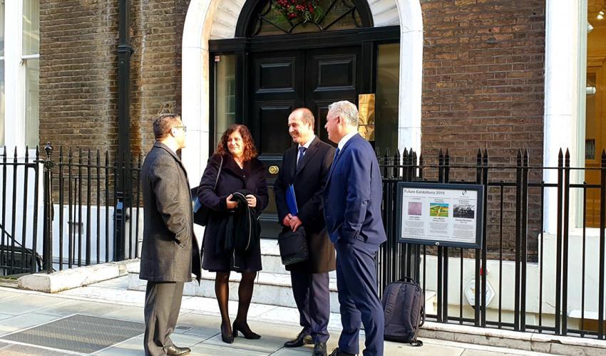 CEOE, Diputación y Ayuntamiento presentan a Guadalajara como una gran oportunidad de inversión ante una veintena de empresarios londinenses