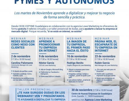 CICLO DE DIGITALIZACIÓN PARA PYMES Y AUTÓNOMOS - WEBINAR: REDES SOCIALES COMO NEXO CON CLIENTES