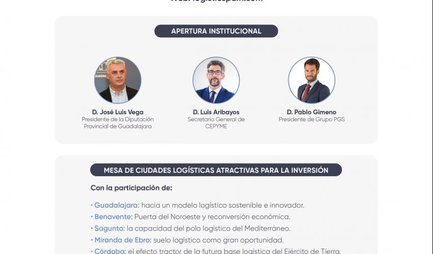 Invitación Webinar LOGISTIC SPAIN - El papel de las ciudades en el mapa logístico español